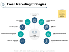 Email Marketing Strategies Ppt PowerPoint Presentation Infographics Professional