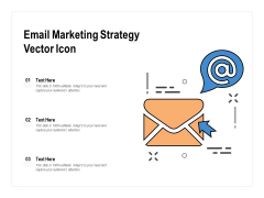 Email Marketing Strategy Vector Icon Ppt PowerPoint Presentation Influencers