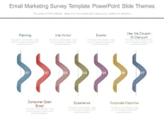Email Marketing Survey Template Powerpoint Slide Themes