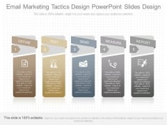 Email Marketing Tactics Design Powerpoint Slides Design