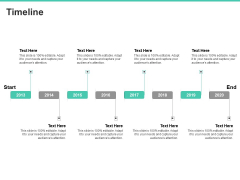 Email Security Encryption And Data Loss Prevention Timeline Template PDF
