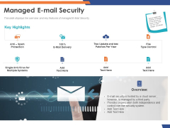 Email Security Market Research Report Managed E Mail Security Introduction PDF