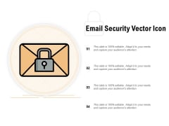 Email Security Vector Icon Ppt PowerPoint Presentation Model Example Topics