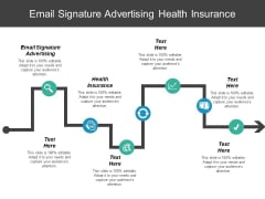 Email Signature Advertising Health Insurance Ppt PowerPoint Presentation Styles Tips