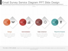 Email Survey Service Diagram Ppt Slide Design