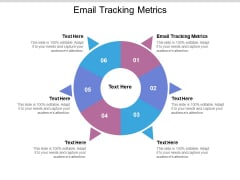 Email Tracking Metrics Ppt PowerPoint Presentation Show Template Cpb