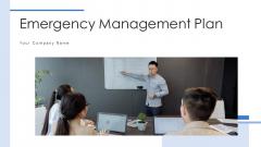 Emergency Management Plan Evaluation Ppt PowerPoint Presentation Complete Deck With Slides