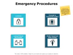 Emergency Procedures Planning Ppt PowerPoint Presentation Icon Structure