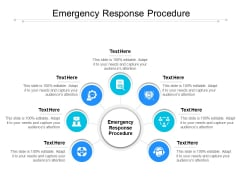 Emergency Response Procedure Ppt PowerPoint Presentation Gallery Diagrams Cpb