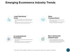 Emerging Ecommerce Industry Trends Slide Ppt PowerPoint Presentation Infographic Template Styles