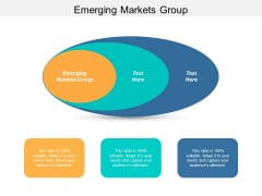 Emerging Markets Group Ppt PowerPoint Presentation Professional Guide Cpb