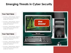 Emerging Threats In Cyber Security Ppt PowerPoint Presentation Model Images PDF