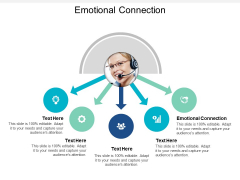 Emotional Connection Ppt PowerPoint Presentation Infographic Template Deck Cpb