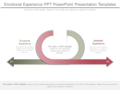 Emotional Experience Ppt Powerpoint Presentation Templates