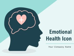 Emotional Health Icon Brain Health Individual Mental Ppt PowerPoint Presentation Complete Deck