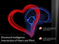 Emotional Intelligence Intersection Of Heart And Mind Ppt PowerPoint Presentation Gallery Information PDF