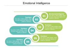 Emotional Intelligence Ppt PowerPoint Presentation Icon Rules Cpb