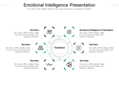 Emotional Intelligence Presentation Ppt PowerPoint Presentation Icon Template Cpb Pdf