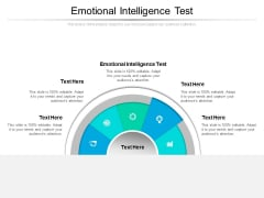 Emotional Intelligence Test Ppt PowerPoint Presentation Icon Microsoft Cpb Pdf