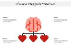 Emotional Intelligence Vector Icon Ppt PowerPoint Presentation File Ideas PDF