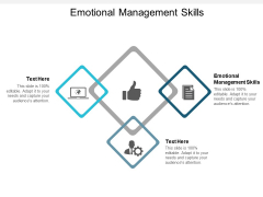 Emotional Management Skills Ppt PowerPoint Presentation Sample Cpb