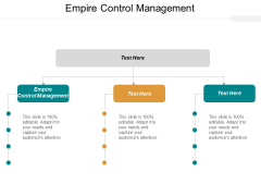 Empire Control Management Ppt PowerPoint Presentation Gallery Topics Cpb