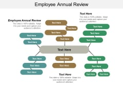 Employee Annual Review Ppt PowerPoint Presentation Pictures Visual Aids Cpb
