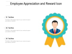 Employee Appreciation And Reward Icon Ppt PowerPoint Presentation Gallery Graphics PDF