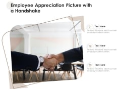 Employee Appreciation Picture With A Handshake Ppt PowerPoint Presentation File Show PDF