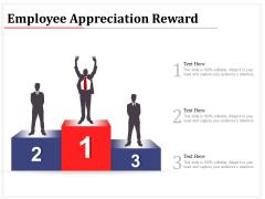 Employee Appreciation Reward Ppt PowerPoint Presentation File Slides PDF