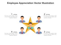 Employee Appreciation Vector Illustration Ppt PowerPoint Presentation File Mockup PDF