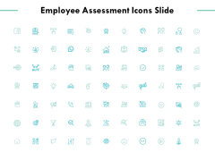 Employee Assessment Icons Slide Ppt PowerPoint Presentation Layouts Vector