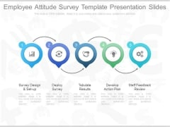Employee Attitude Survey Template Presentation Slides