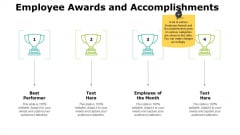 Employee Awards And Accomplishments Ppt PowerPoint Presentation Infographic Template Graphics Design