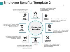 Employee Benefits Achievement Award Ppt PowerPoint Presentation Layouts Maker