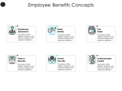 Employee Benefits Concepts Employees Allowance Ppt PowerPoint Presentation Layouts Slide Download