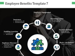 Employee Benefits Employee Discount Ppt PowerPoint Presentation Layouts Icons