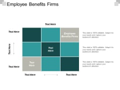 Employee Benefits Firms Ppt PowerPoint Presentation Icon Deck Cpb