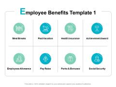 Employee Benefits Health Ppt PowerPoint Presentation Show Deck