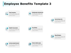 Employee Benefits Paid Vacation Ppt PowerPoint Presentation Inspiration Example Topics