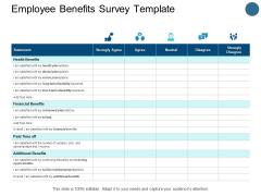 Employee Benefits Survey Template Opportunities Ppt PowerPoint Presentation Show Slide