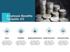 Employee Benefits Template Social Securities Ppt PowerPoint Presentation Layouts Background Image