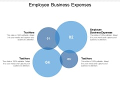 Employee Business Expenses Ppt PowerPoint Presentation Summary Smartart