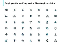 Employee Career Progression Planning Icons Slide Pillars Ppt PowerPoint Presentation Professional Slide Portrait
