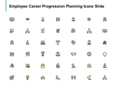 Employee Career Progression Planning Icons Slide Winner Target Ppt PowerPoint Presentation Inspiration Tips