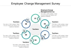 Employee Change Management Survey Ppt PowerPoint Presentation Slides Examples Cpb