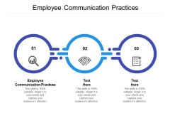 Employee Communication Practices Ppt PowerPoint Presentation Show Introduction Cpb