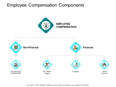 Employee Compensation Components Ppt PowerPoint Presentation Pictures Demonstration