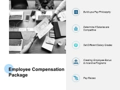 Employee Compensation Package Incentive Programs Ppt PowerPoint Presentation Professional Graphics
