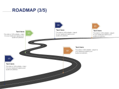 Employee Compensation Proposal Roadmap Five Stage Process Ppt Inspiration Example PDF